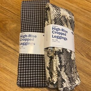 Old Navy High Rise Cropped Leggings NWT XL